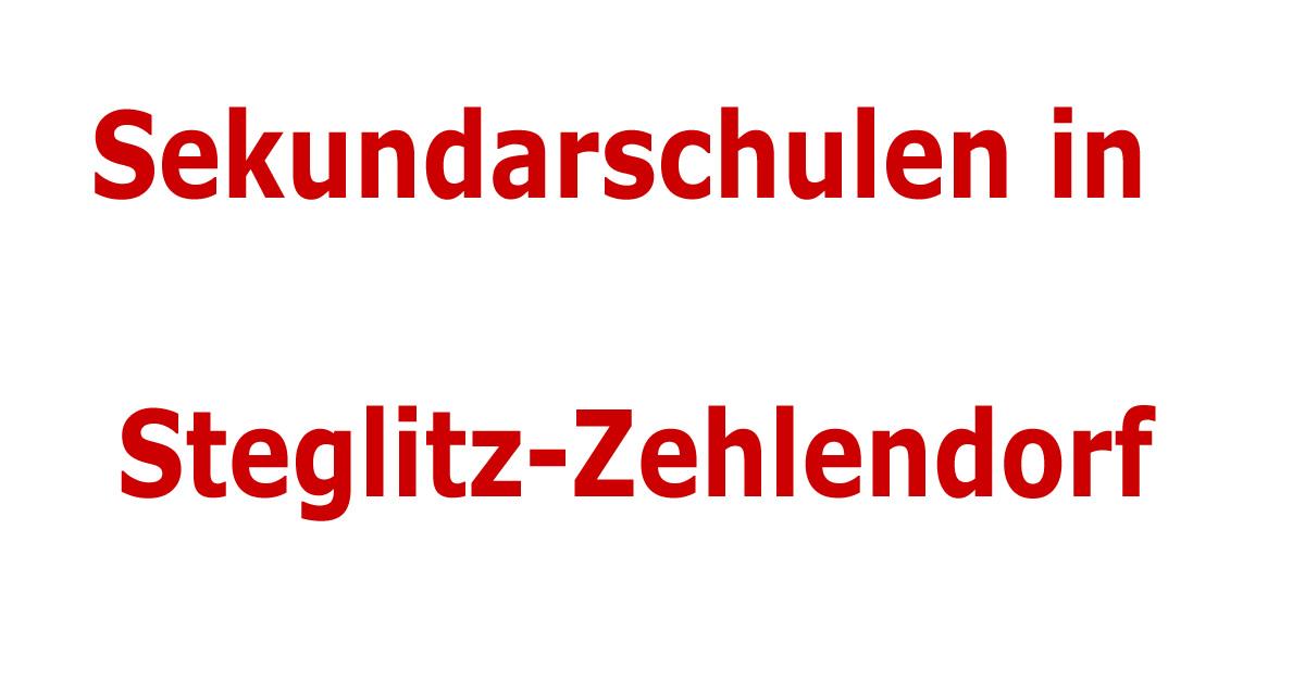 integrierte sekundarschulen im bezirk steglitz zehlendorf sekundarschulen in berlin. Black Bedroom Furniture Sets. Home Design Ideas