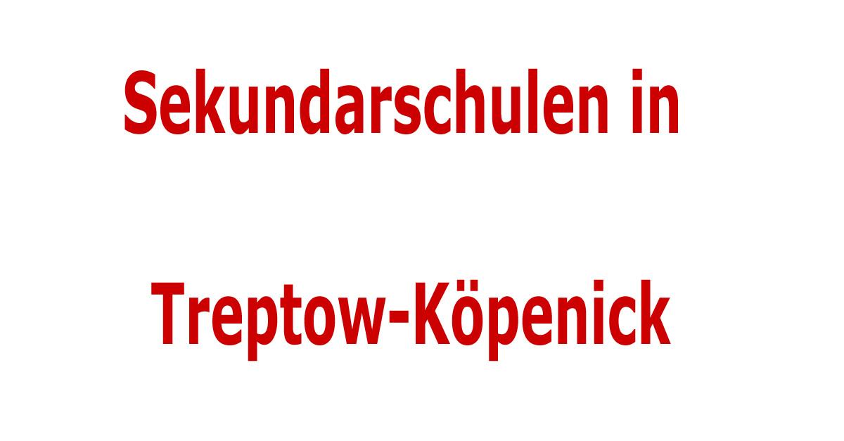 sekundarschulen im bezirk treptow k penick sekundarschulen in berlin. Black Bedroom Furniture Sets. Home Design Ideas