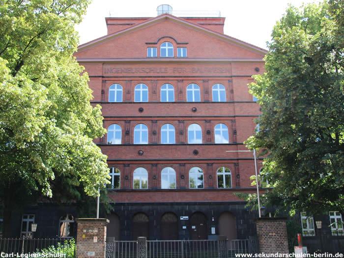 Carl-Legien-Schule (ehemalige Ingenieurschule für Bauwesen)