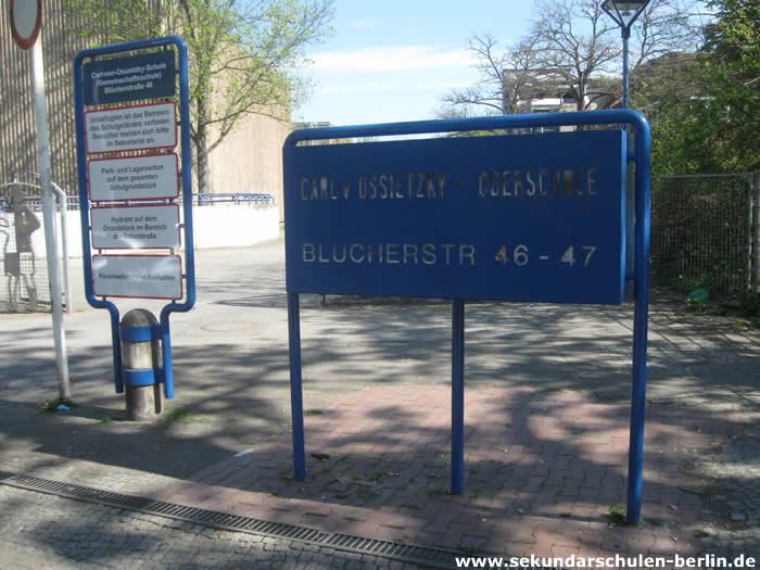 Carl-von-Ossietzky-Schule Schulschild