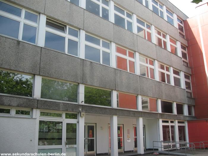 Carlo-Schmid-Oberschule Eingang