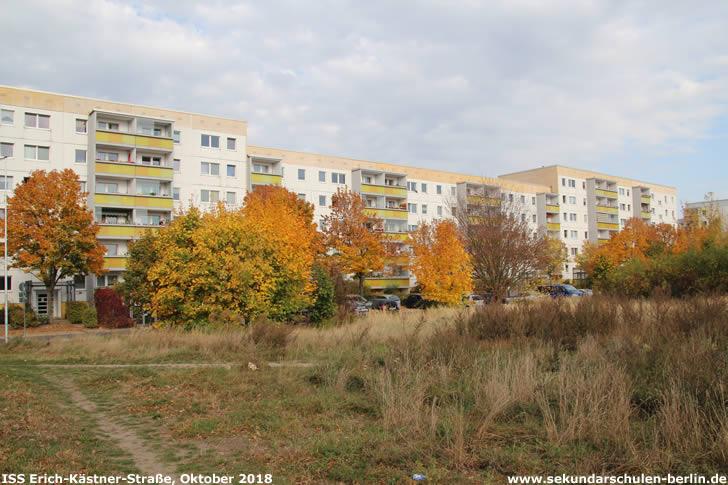 Brache an der Erich-Kästner-Straße (Oktober 2018)