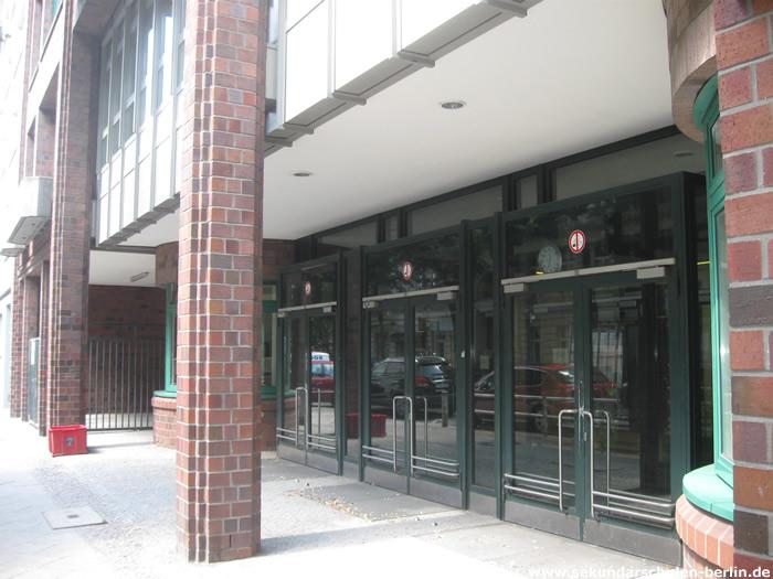 Friedensburg-Schule Eingang