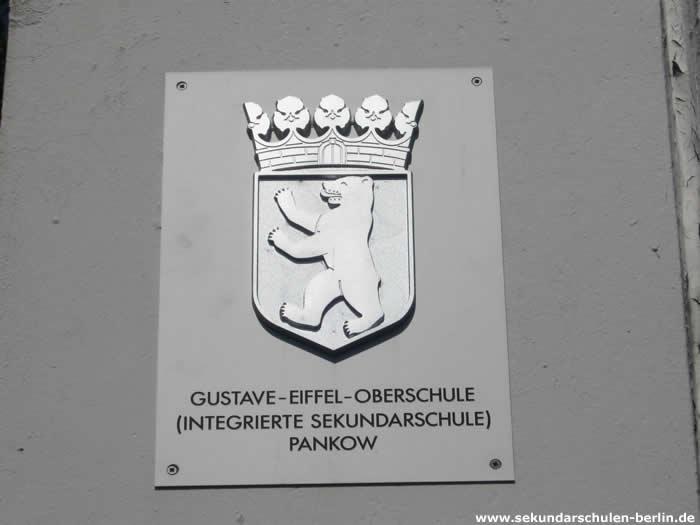 Gustave-Eiffel-Oberschule Schulschild