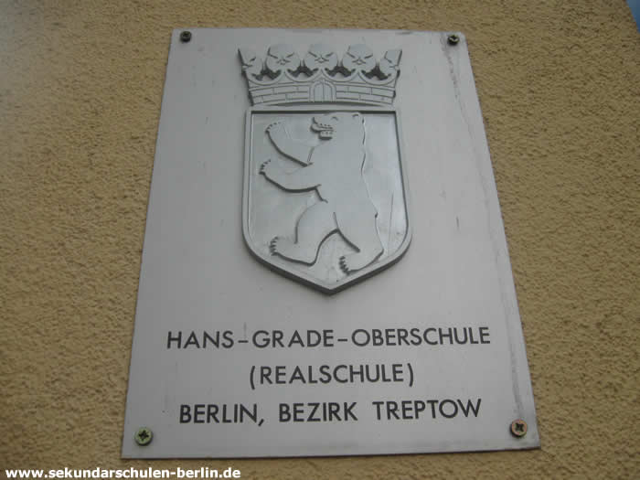 Hans-Grade-Schule Schulschild
