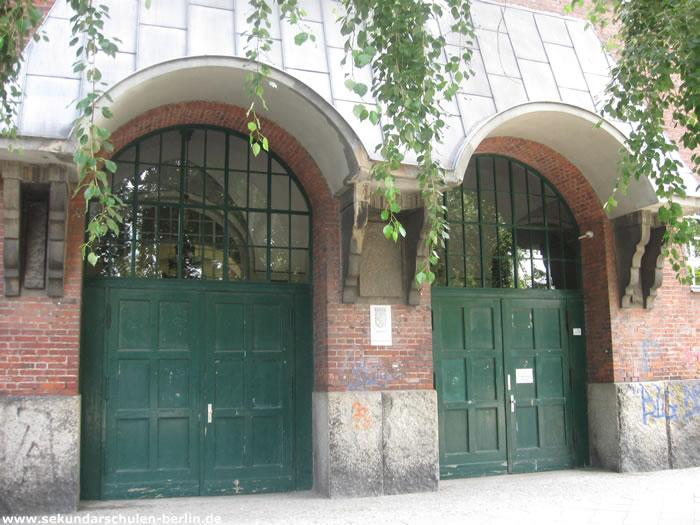 Heinrich-von-Stephan-Schule Eingang