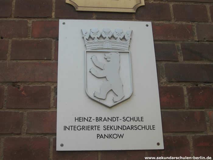 Heinz-Brandt-Schule Schulschild