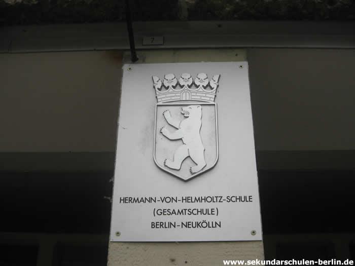 Hermann-von-Helmholtz-Schule Schulschild