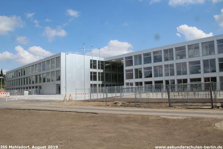 Baustelle Sekundarschule Mahlsdorf (August 2019)