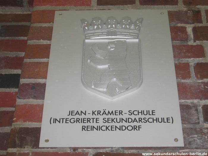 Jean-Krämer-Schule Schulschild
