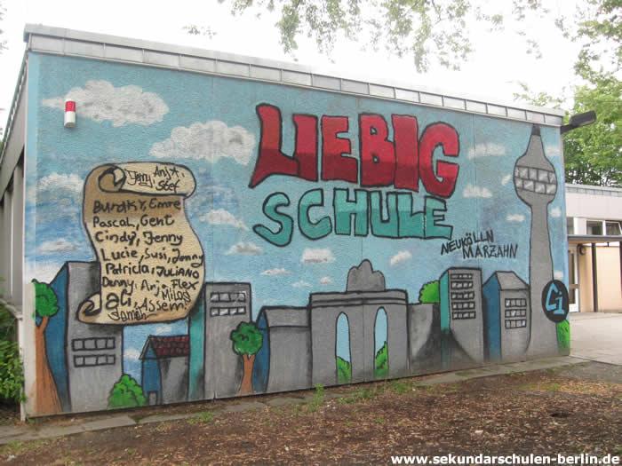 Liebig-Schule Graffiti