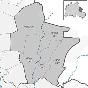 Marzahn-Hellersdorf Ortsteile