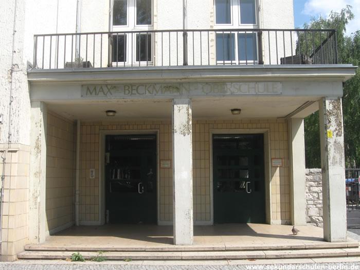 Max-Beckmann-Oberschule Portal