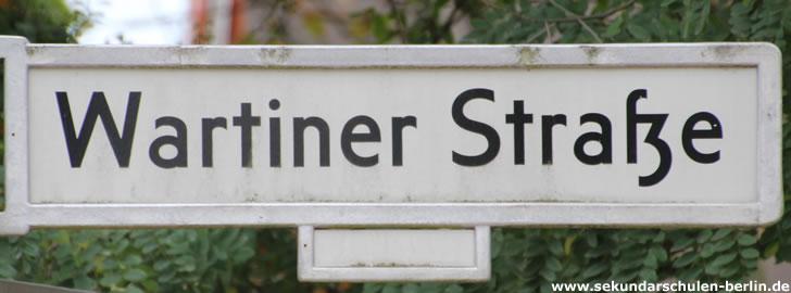 Sekundarschule Wartiner Straße