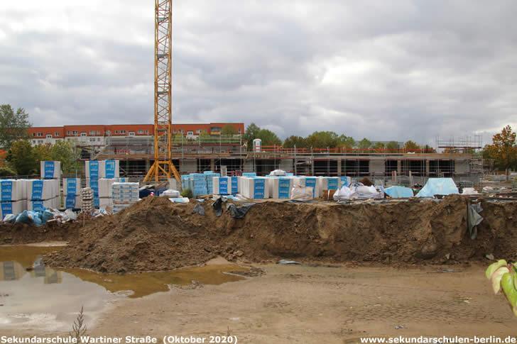 Neubauprojekt Sekundarschule Wartiner Straße (2020)