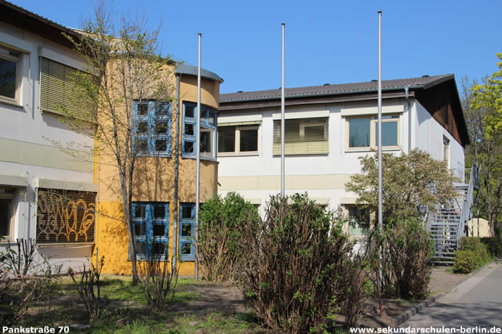 Ehemalige Oberschule am Brunnenplatz (2020)