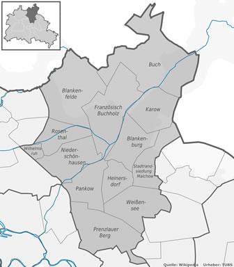 Pankow Ortsteile