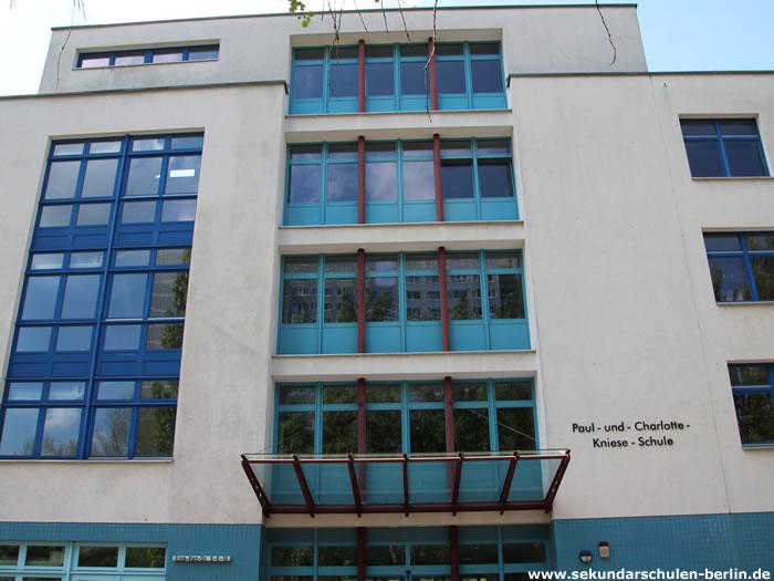 Paul-und-Charlotte-Kniese-Schule Eingang