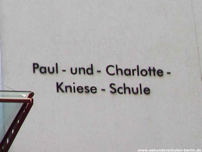 Paul-und-Charlotte-Kniese-Schule Berlin