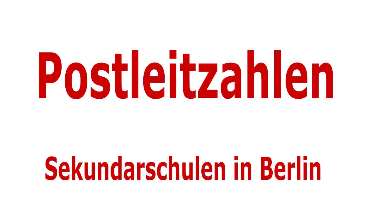 sortiert nach postleitzahlen sekundarschulen in berlin. Black Bedroom Furniture Sets. Home Design Ideas