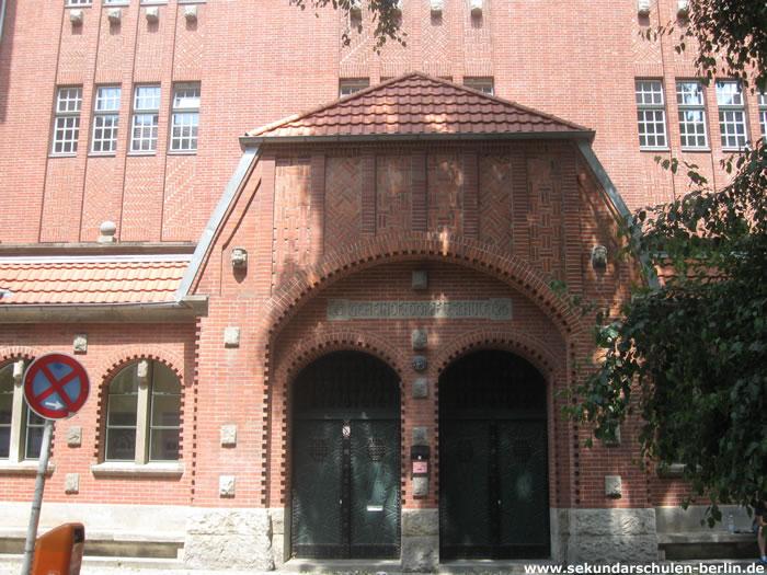 Paula-Fürst-Schule Eingang