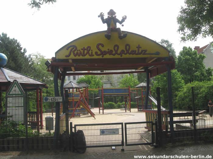 Rütli Spielplatz