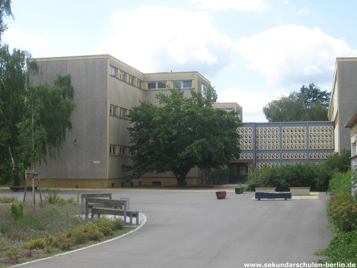 Schule an der Haveldüne Schulhof