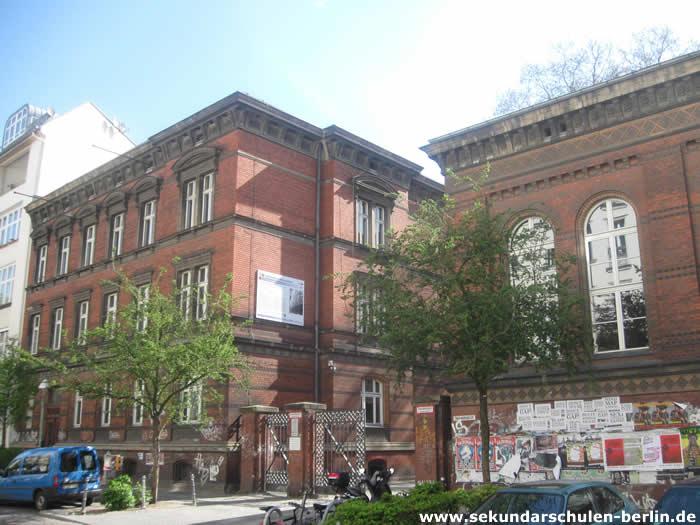 Sekundarschule Graefestraße Frontseite