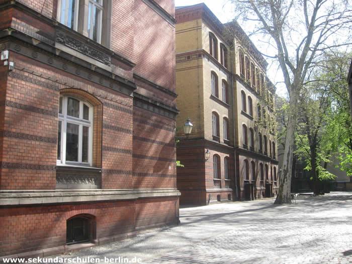 Sekundarschule Graefestraße Schulhof