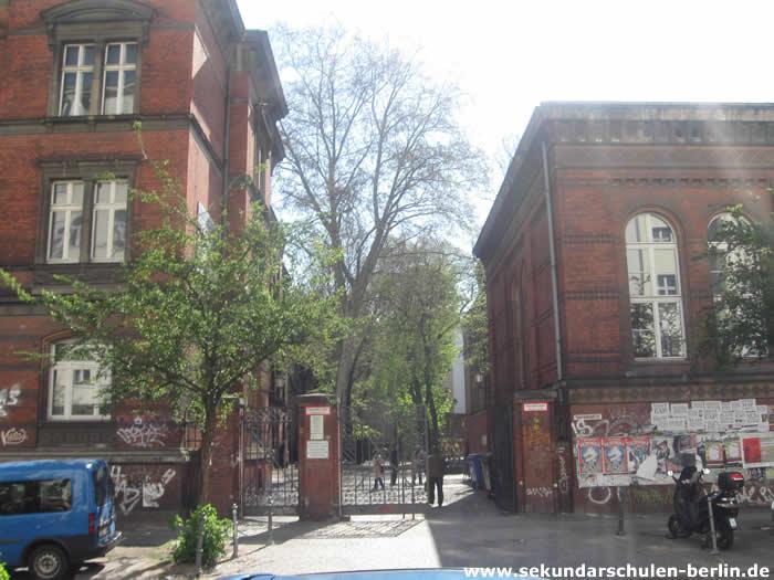 Sekundarschule Graefestraße Eingang