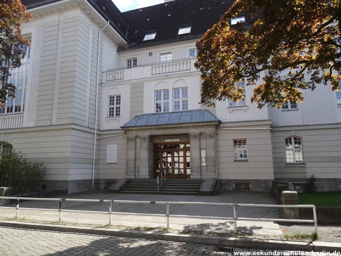 Sekundarschule Wilmersdorf - Eingang