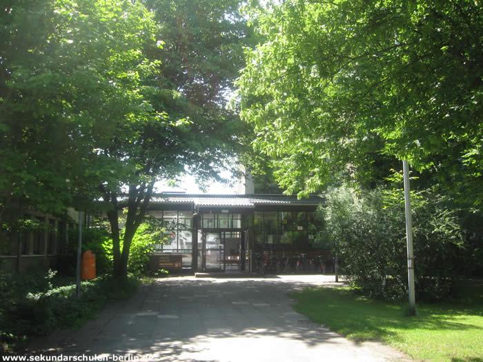 Theodor-Haubach-Schule Eingang