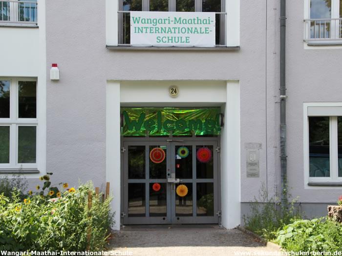 Wangari-Maathai-Internationale-Schule - Eingang