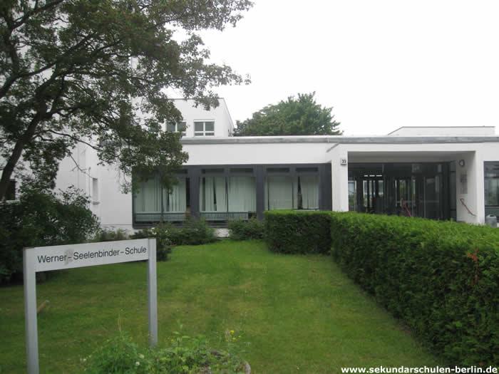 Werner-Seelenbinder-Schule Eingang