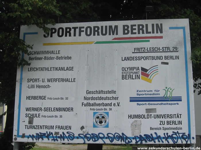 Sportforum Hohenschönhausen
