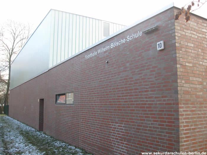 Wilhelm-Bölsche-Schule Sporthalle