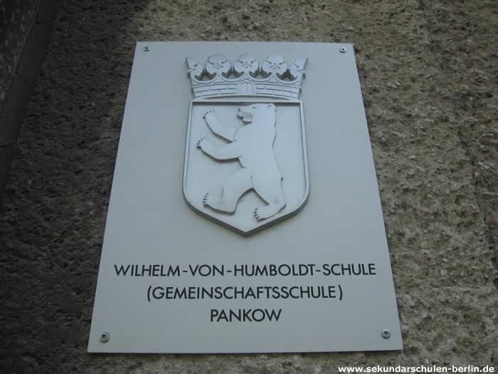 Wilhelm-von-Humboldt-Schule Schulschild