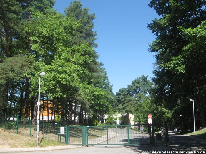 Wilma-Rudolph-Oberschule Eingang