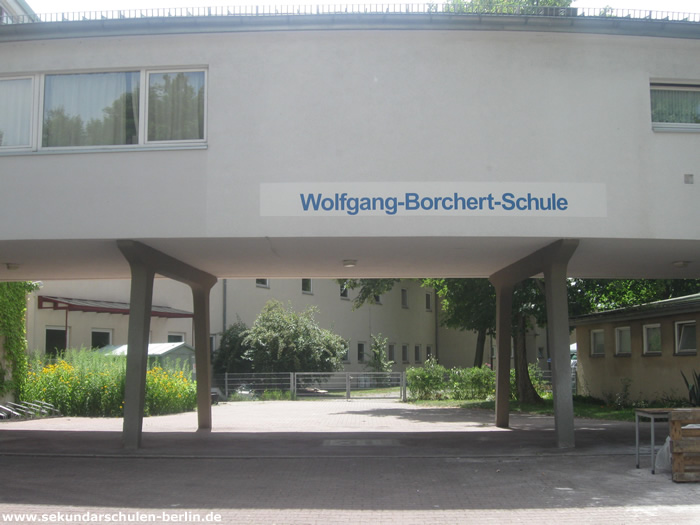 Wolfgang-Borchert-Schule Eingang